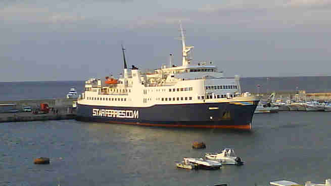 TRAGHETTO RED STAR 1 - COMPAGNIA RED STAR FERRIES